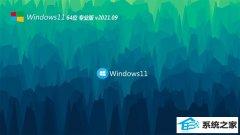 系统之家Windows11 好用装机版64位 2021.09
